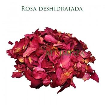 Rosas, pétalos deshidratados